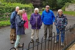 Probus-Short-Walk-Group-outside-William-Smiths-House